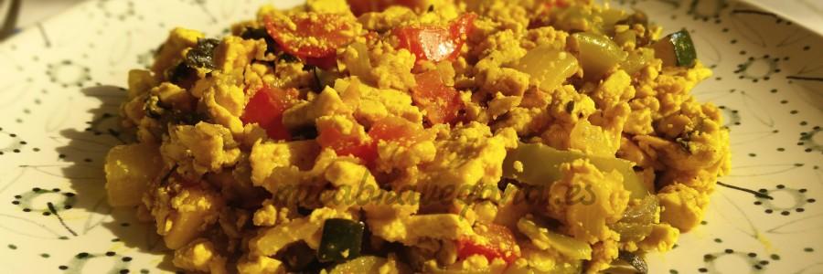 revuelto de tofu