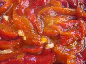 pimientos rojos asados