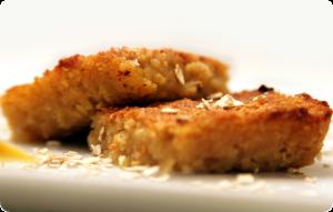 receta de Pastelitos de avena con manzana y crocanti