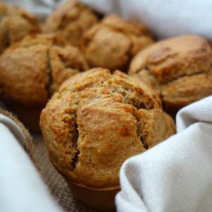 Muffins salados de Calabizo