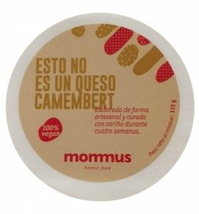 queso camembert vegano mommus