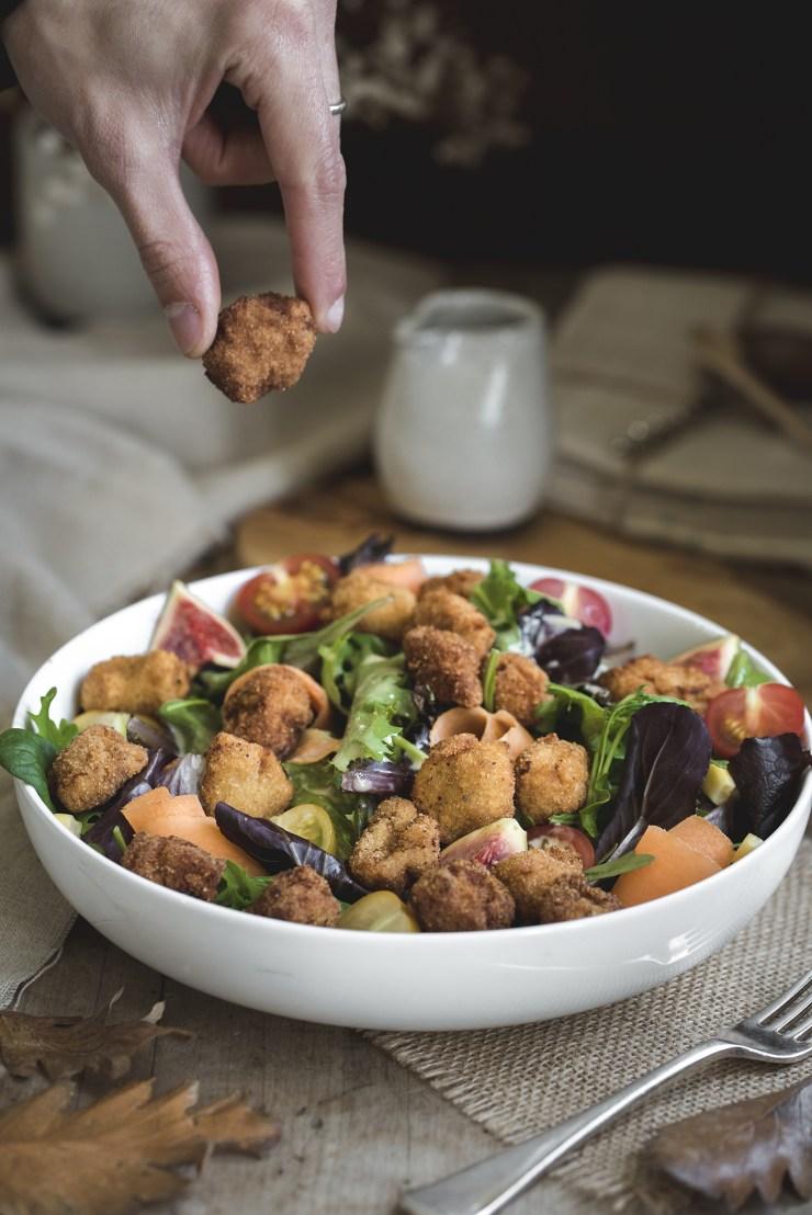 receta rica de bolitas de no-pollo
