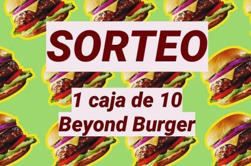 Sorteo Beyond Burger